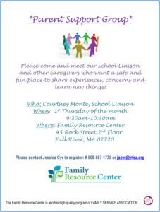 Parent Support Group @ Family Resource Center | Fall River | Massachusetts | United States