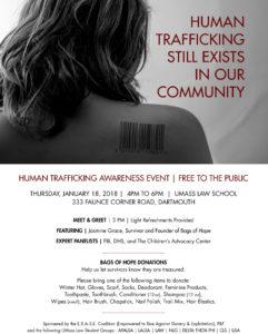 Human Trafficking Awareness Event @ UMASS Law School | Dartmouth | Massachusetts | United States