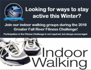 Indoor Walking Groups | GFR Fitness Challenge @ Kuss Middle School | Fall River | Massachusetts | United States