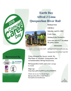 2018 Comcast Cares Day: Earth Day Alfred J. Lima Quequechan River Rail @ Quequechan River Rail Trail | Fall River | Massachusetts | United States
