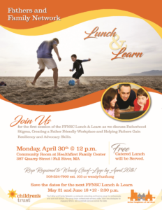 Fathers and Family Network | Lunch and Learn @ Healthfirst Family Center, Community Room | Fall River | Massachusetts | United States