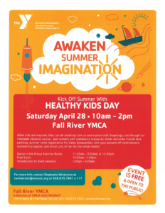 Awaken Summer Imagination: Kick-Off Summer with Healthy Kids Day @ Fall River YMCA   Fall River   Massachusetts   United States