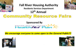 Fall River Housing Authority's 12th Annual Community Resource Fairs @ Father Diaferio Village | Fall River | Massachusetts | United States