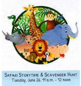 Wild Week at the Library - Safari Storytime and Scavenger Hunt | Children's Events @ Fall River Public Library  - Elm Street Lawn | Fall River | Massachusetts | United States