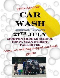 Youth Services' Car Wash @ Morton Middle School | Fall River | Massachusetts | United States