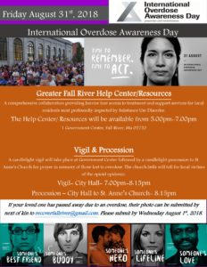 International Overdose Awareness Day @ Fall River City Hall and St. Anne's Church | Fall River | Massachusetts | United States