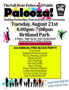 Fall River Police and Public Palooza @ Britland Park | Fall River | Massachusetts | United States