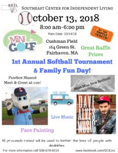 1st Annual Softball Tournament and Family Fun Day - Southeast Center for Independent Living @ Cushman Field | Fairhaven | Massachusetts | United States