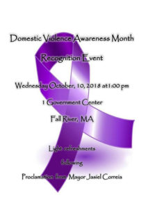 Domestic Violence Awareness Month Recognition Event @ Fall River Government Center | Fall River | Massachusetts | United States