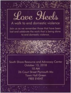 Love Heels: A Walk to End Domestic Violence @ Town Hall Green | Plymouth | Massachusetts | United States