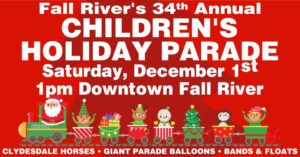 Fall River's 34th Annual Children's Holiday Parade @ Kennedy Park | Fall River | Massachusetts | United States