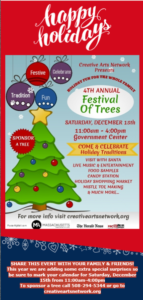 4th Annual Festival of Trees @ Fall River Government Center | Fall River | Massachusetts | United States
