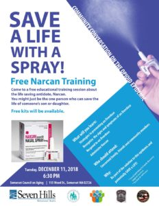 FREE Narcan Training @ Somerset Council on Aging