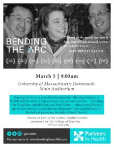 Bending the Arc @ University of Massachusetts Dartmouth, Main Auditorium