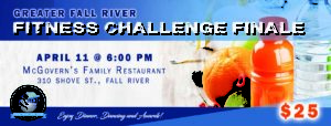 Greater Fall River Fitness Challenge Finale @ McGovern's Family Restaurant