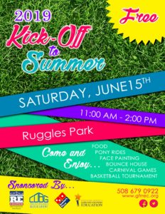 GFR RE-CREATION Annual Kick-Off to Summer @ Ruggles Park