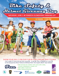 Bike Safety & Helmet Giveaway Day @ Britland Park