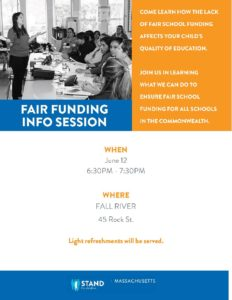 Fair Funding Info Session @ GFR Re-creation
