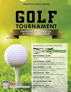 Golf Tournament hosted by GFR RE-CREATION @ Acoaxet Country Club
