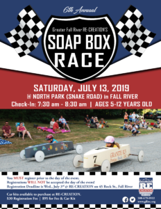 Soap Box Race hosted by GFR RE-CREATION @ North Park on Snake Road