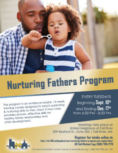 Nurturing Fathers Program | Fall 2019 Session @ United Neighbors of Fall River