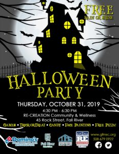 Halloween Party @ RE-CREATION Community & Wellness