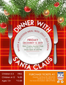 Dinner With Santa Claus @ Don Carlos Social Club