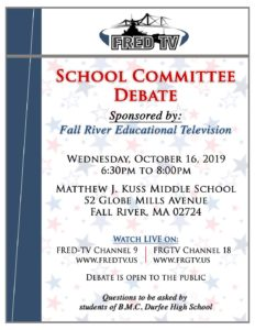 School Committee Debate @ Matthew J. Kuss Middle School