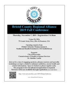 Bristol County Regional Alliance 2019 Fall Conference @ Venus de Milo