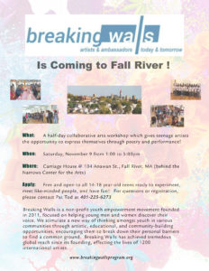 Breaking Walls   Artists and Ambassadors Today and Tomorrow @ Carriage House