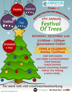5th Annual Festival of Trees @ Government Center
