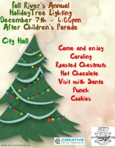 Holiday Tree Lighting Ceremony @ Fall River Government Center